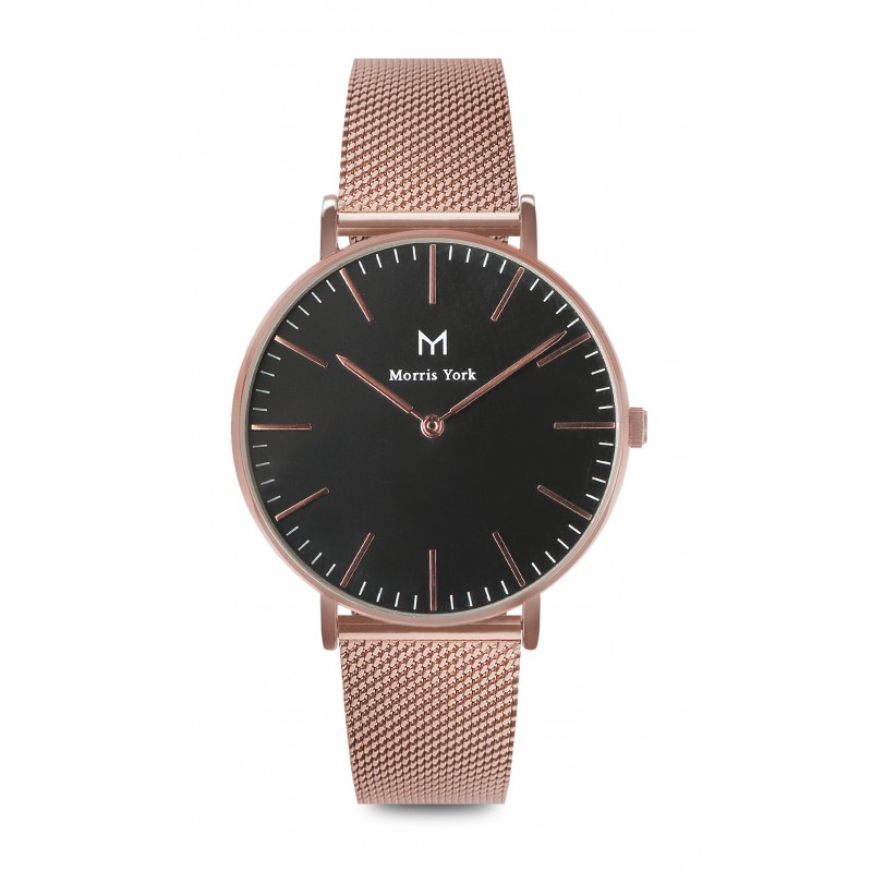Morris York Rose Gold&Black